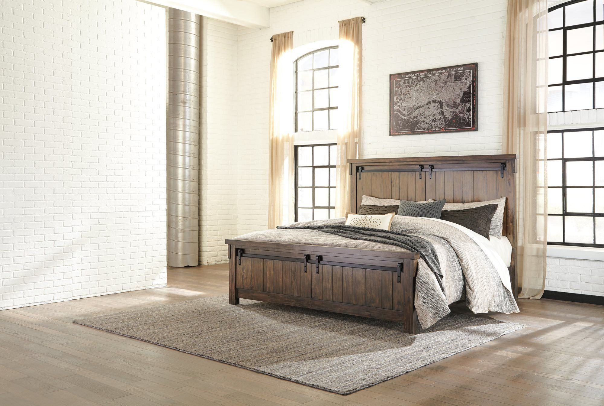 Ashley Lakeleigh E King Panel Bed In Brown Gt Gt Gt For More Information Visit Image Link This Is