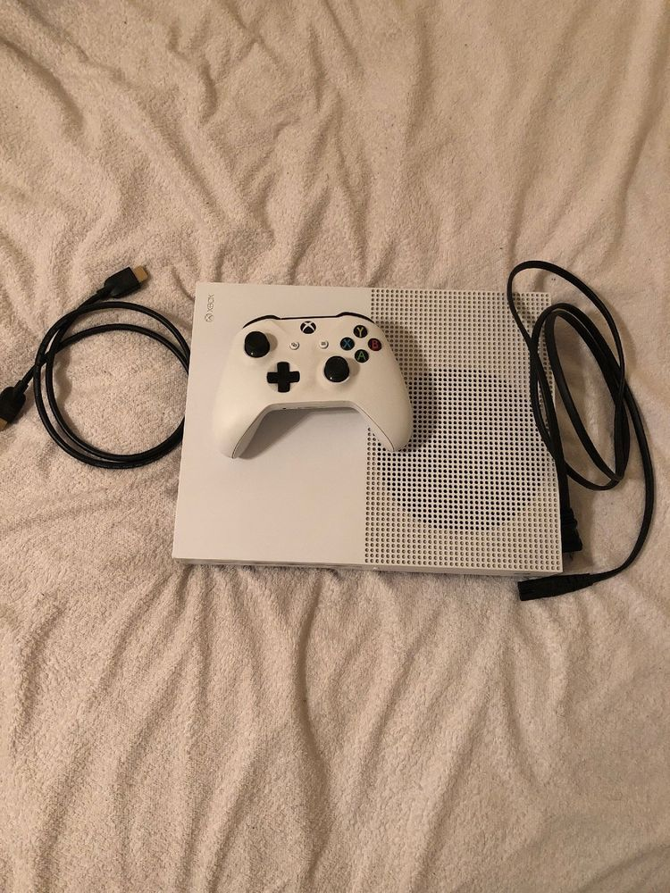 Fabulous Microsoft Xbox One S 500Gb White Console 1 Controller White Wiring 101 Orsalhahutechinfo