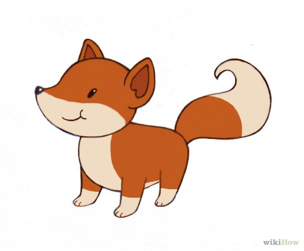How To Draw A Fox Fox Drawing Drawing For Kids Drawings