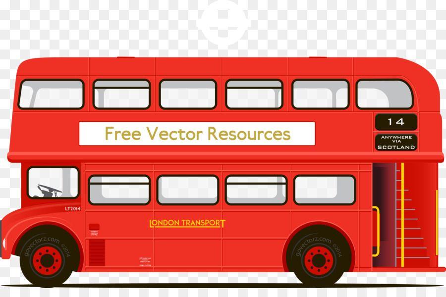 Double Decker Bus Clip Art Vector Double Decker Bus Double Decker Bus Clip Art Bus