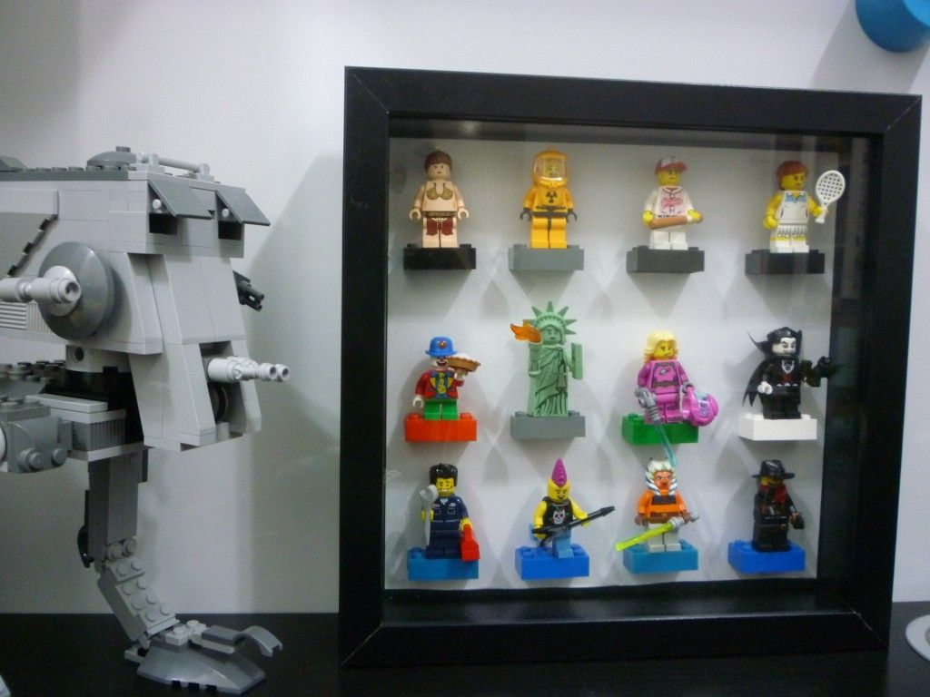 Another #LEGO #Minifigure display using the Ikea RIBBA frame. | Kids ...