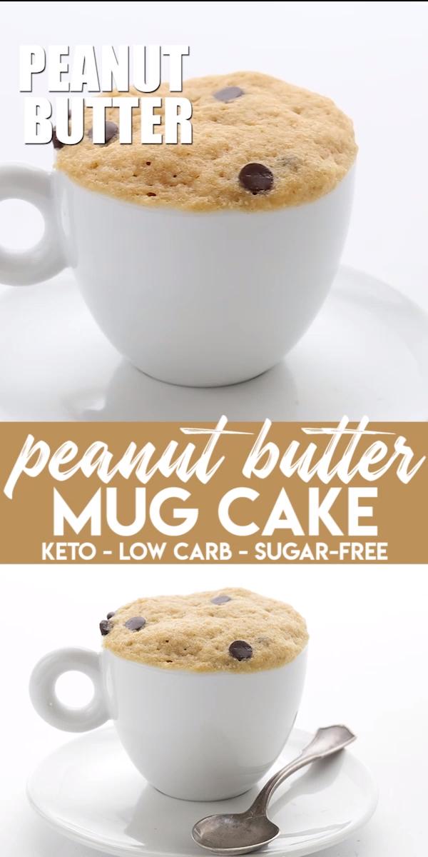 Keto Peanut Butter Mug Cake images