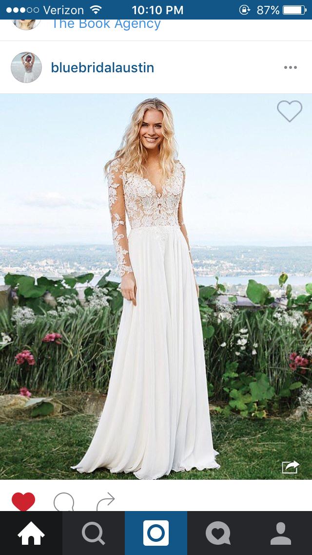 f8867af4e7129 Dream Wedding Dresses, Wedding Dress Chiffon, Wedding Dress Sleeves, Size 12  Wedding Dress