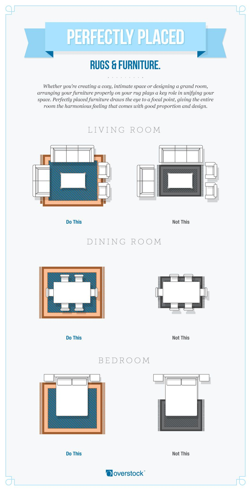 The Complete Guide To Choosing An Area Rug Overstock Com Living Room Rug Placement Rugs In Living Room Bedroom Rug Placement