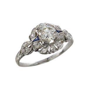King Jewelers Estate 95943 Diamond Ring Default Old School Style