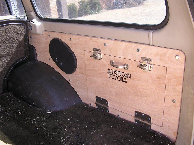 cargo panels fj60