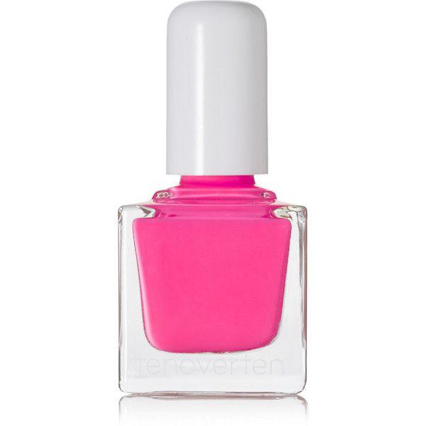 TenOverTen Nail Polish - Delancey 016 ($18) ❤ liked on Polyvore featuring beauty products, nail care, nail polish, beauty, nails, makeup, cosmetics, bright pink and shiny nail polish