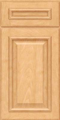 Door Detail - Gavinbrook Square (GRM4) Maple in Honey Spice - KraftMaid Cabinetry