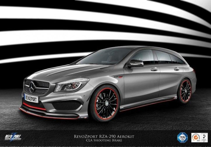 Revozport Tunes The Mercedes Benz Cla Shooting Brake With Images