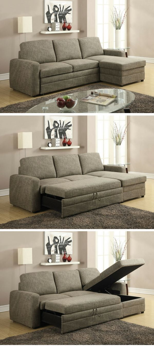 Check Out The Derwyn Sleeper Storage Sectional Sofa Istandarddesign Sleepersofa