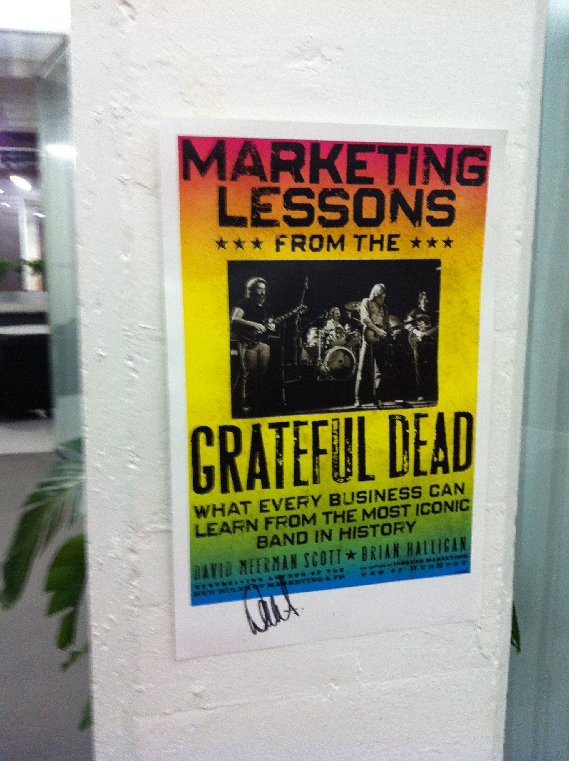 Marketing Lessons Book