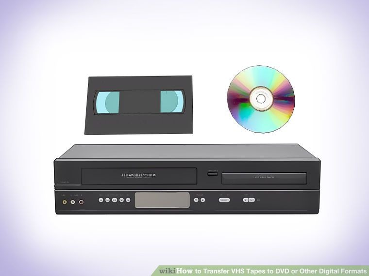 Transfer VHS Tapes to DVD or Other Digital Formats   Great Ideas