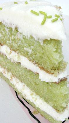 Trisha Yearwood's Key Lime Cake | Lime cake recipe
