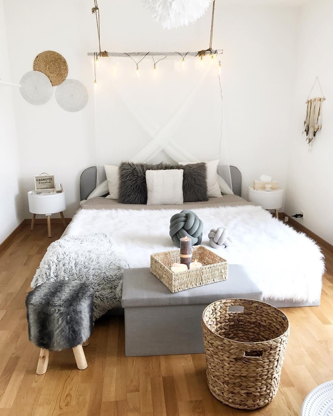 cozy dreams in diesem traumhaften schlafzimmer in grau