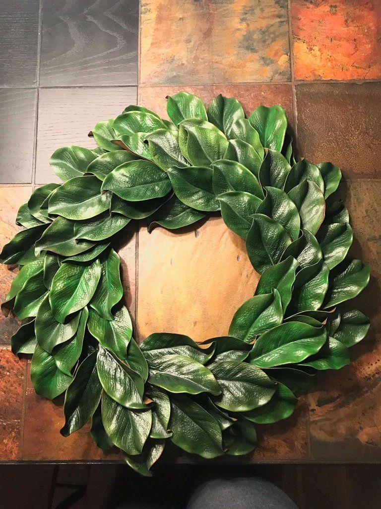 Photo of Super Easy DIY Magnolia Wreath Tutorial A hosting house