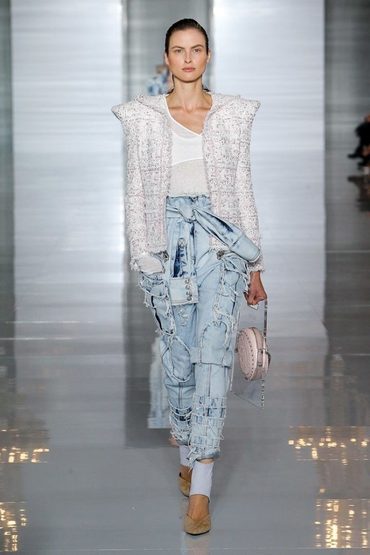 Balmain Spring Summer 2019 Ready-to-Wear Women's ...