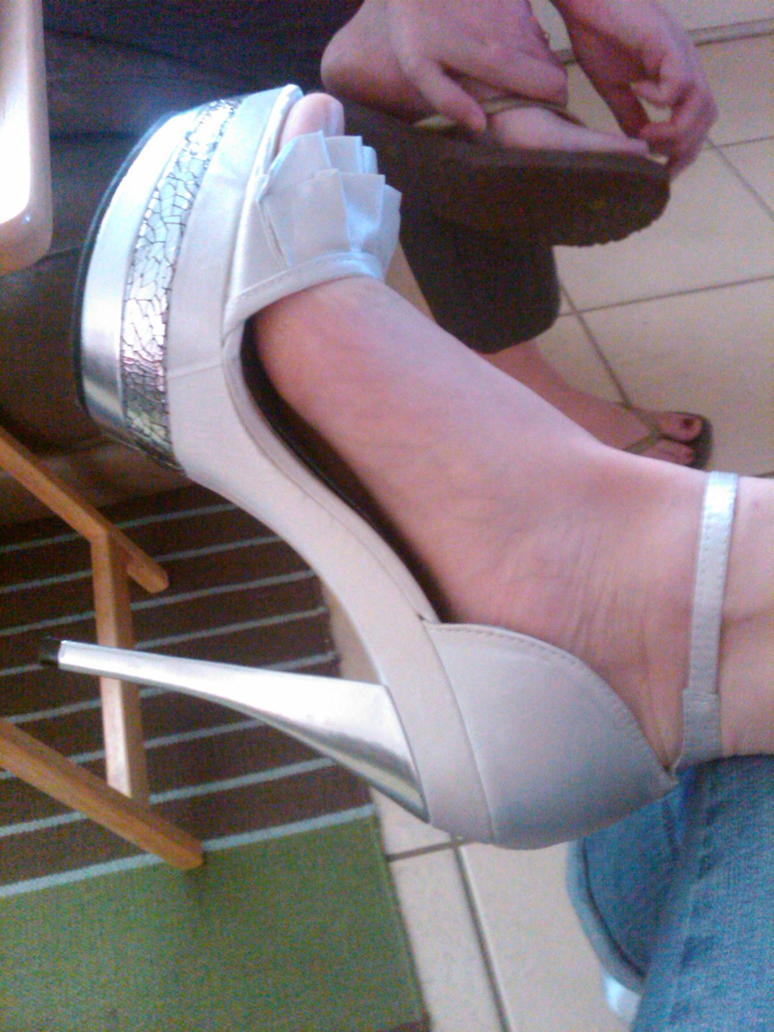 Only the best wedding shoes I could have possibly worn
