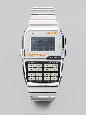 edf8760002b casio databank watch Retro Watches