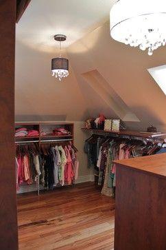 Dormer closet design ideas pictures remodel and decor Dormer closet ideas