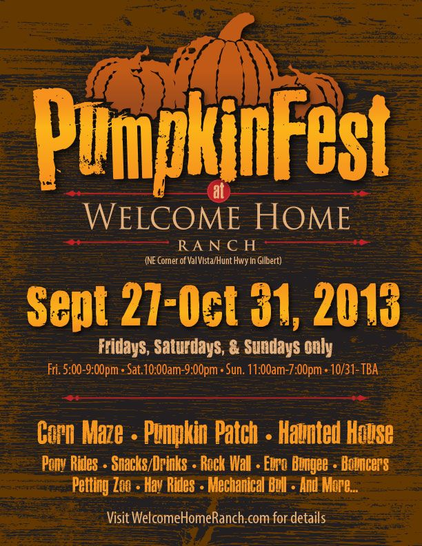 Gilbert S Pumpkinfest Check Out This Awesome Pumpkin Patch