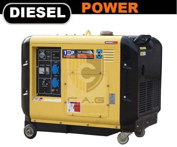 Tpc Series Super Silent Portable Diesel Generators Portable Diesel Generator Gas Powered Generator Diesel Generators