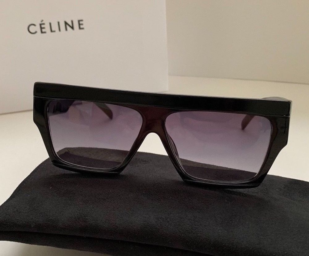 a1f8b91c175 NEW Celine Rectangular Sunglasses CL 40030 S in black color  fashion   clothing  shoes  accessories  womensaccessories   sunglassessunglassesaccessories (ebay ...
