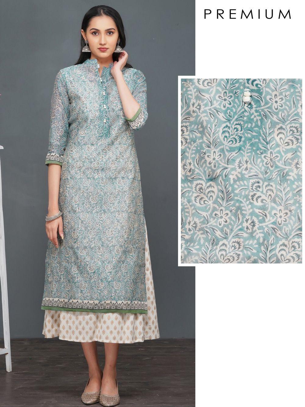 Rayon Kajal Style Fashion Season Vol 4 Nx Long Kurti, Rs