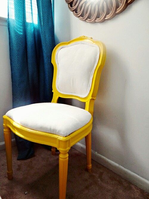 This yellow is just gorgeous (With images)   Upholstered ...