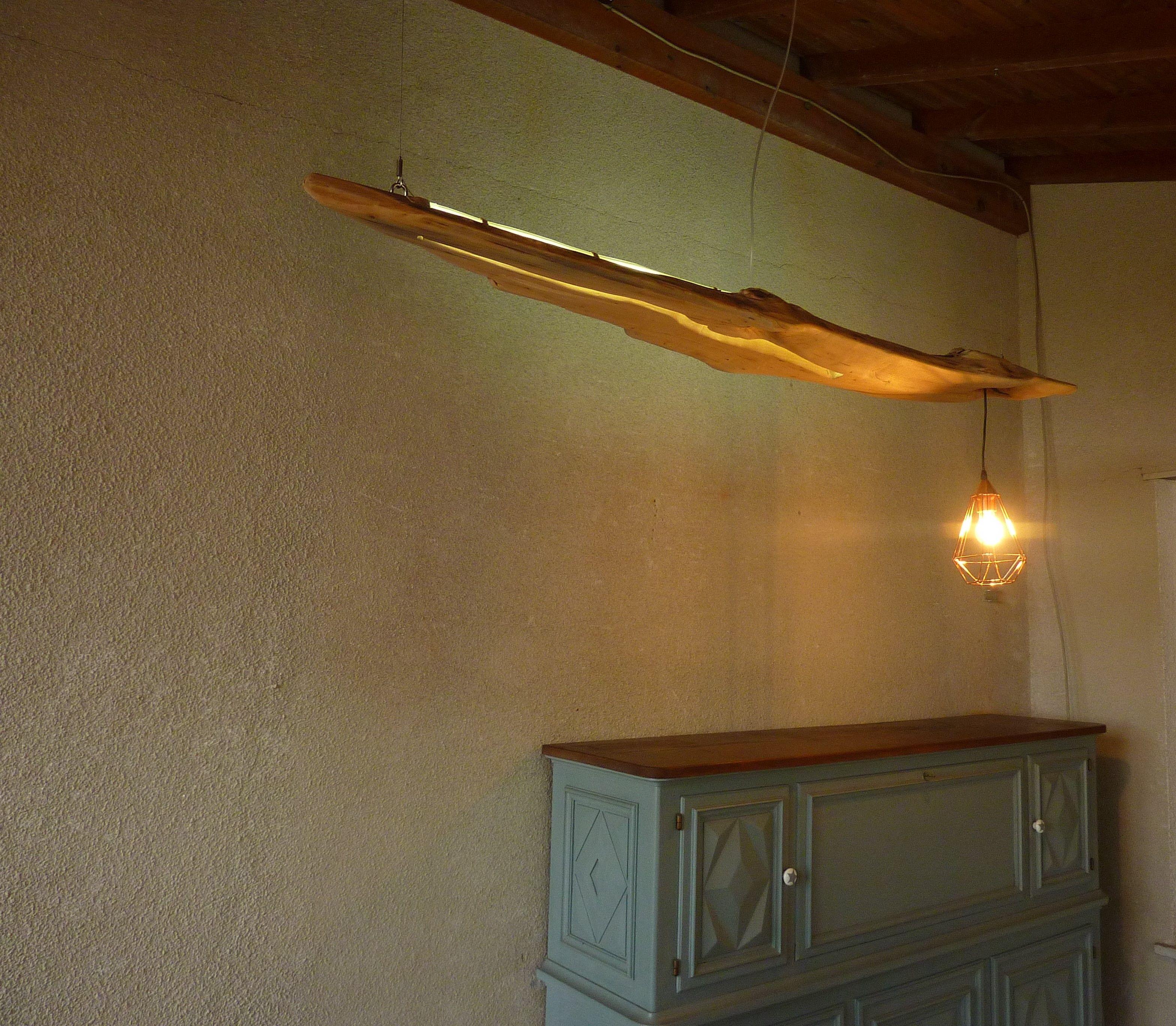 Lampadario Con Strisce Led lo squalo: lampadario in legno (con immagini) | lampadari