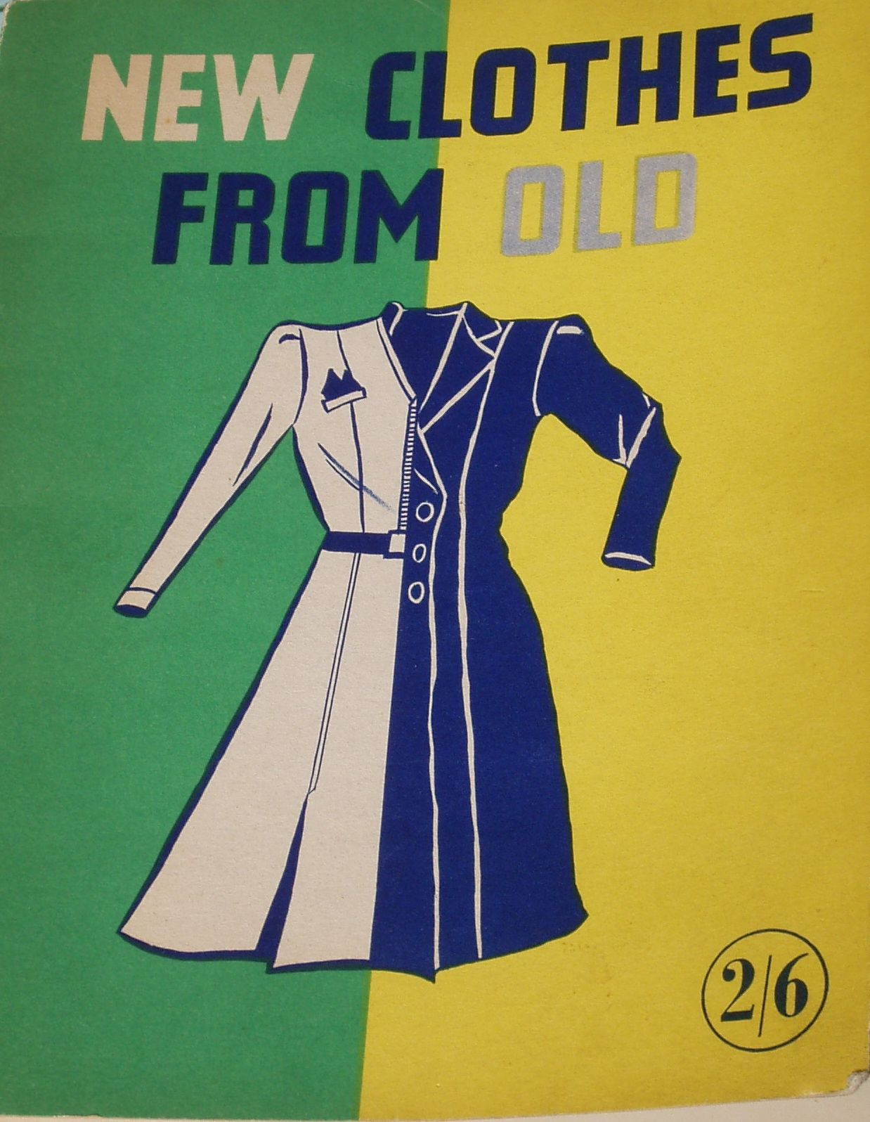 New clothes from old, make do and mend, remaking clothes