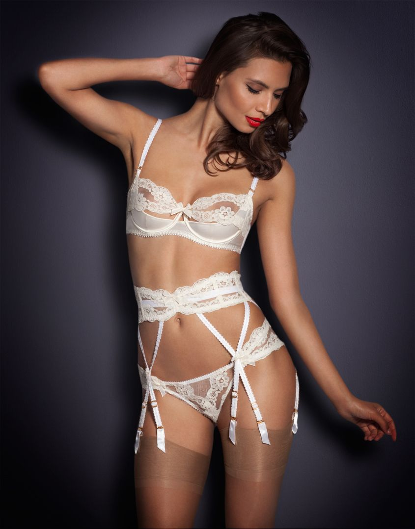 a6e0571ce Bridal Lingerie by Agent Provocateur - Lacy Suspender