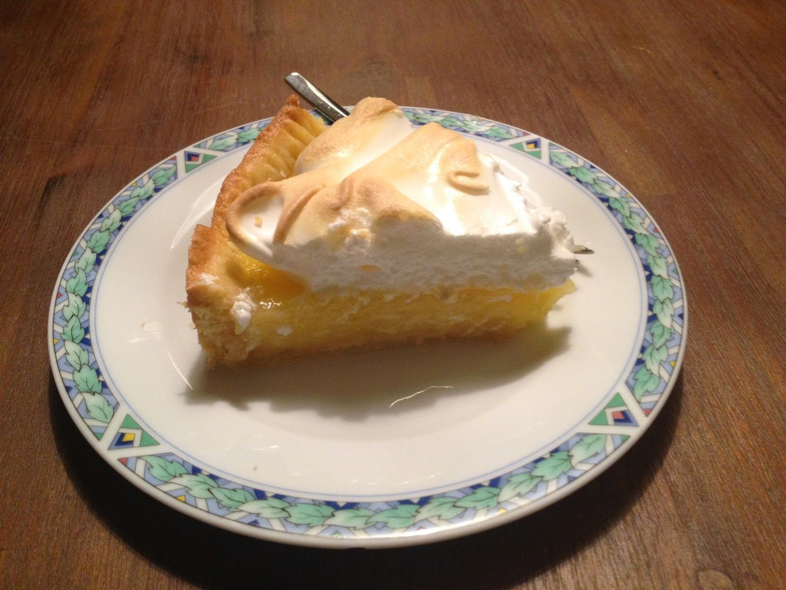 Citroen meringue taart - My happy kitchen & lifestyle