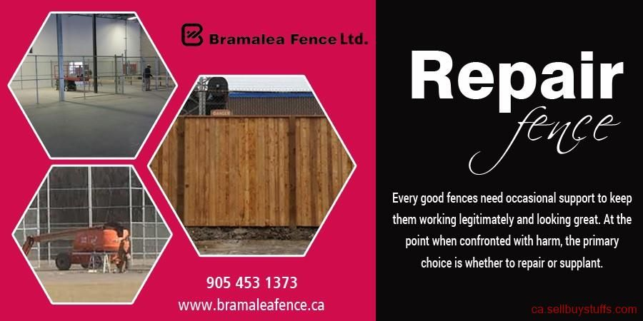 second hand/new Bramalea Fence Ltd. Services business