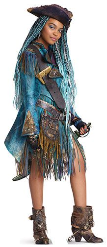 Uma - Disney Descendants 2 | Kid Hair | Descendants costumes