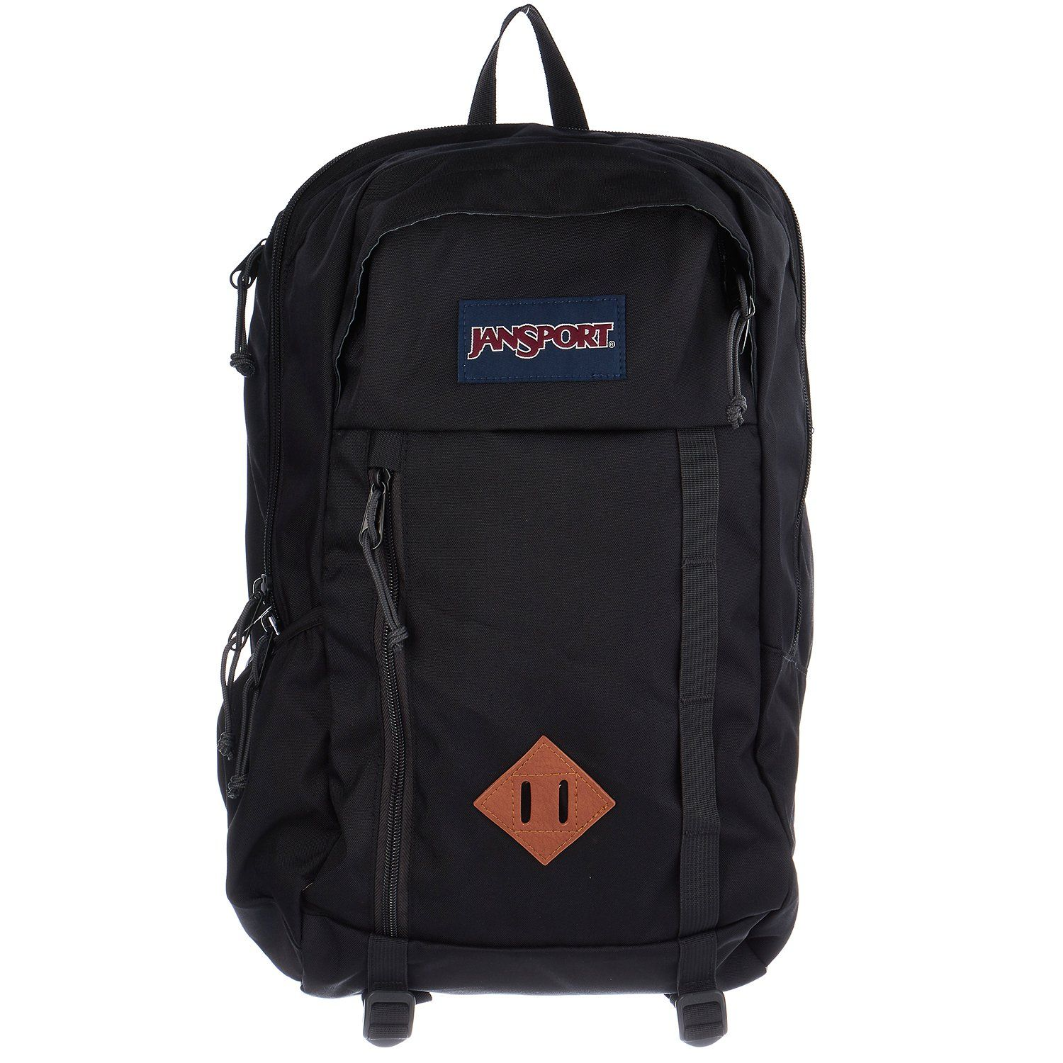 535d17a1f5 JanSport Mens Outside Mainstream Foxhole Backpack - Black   18