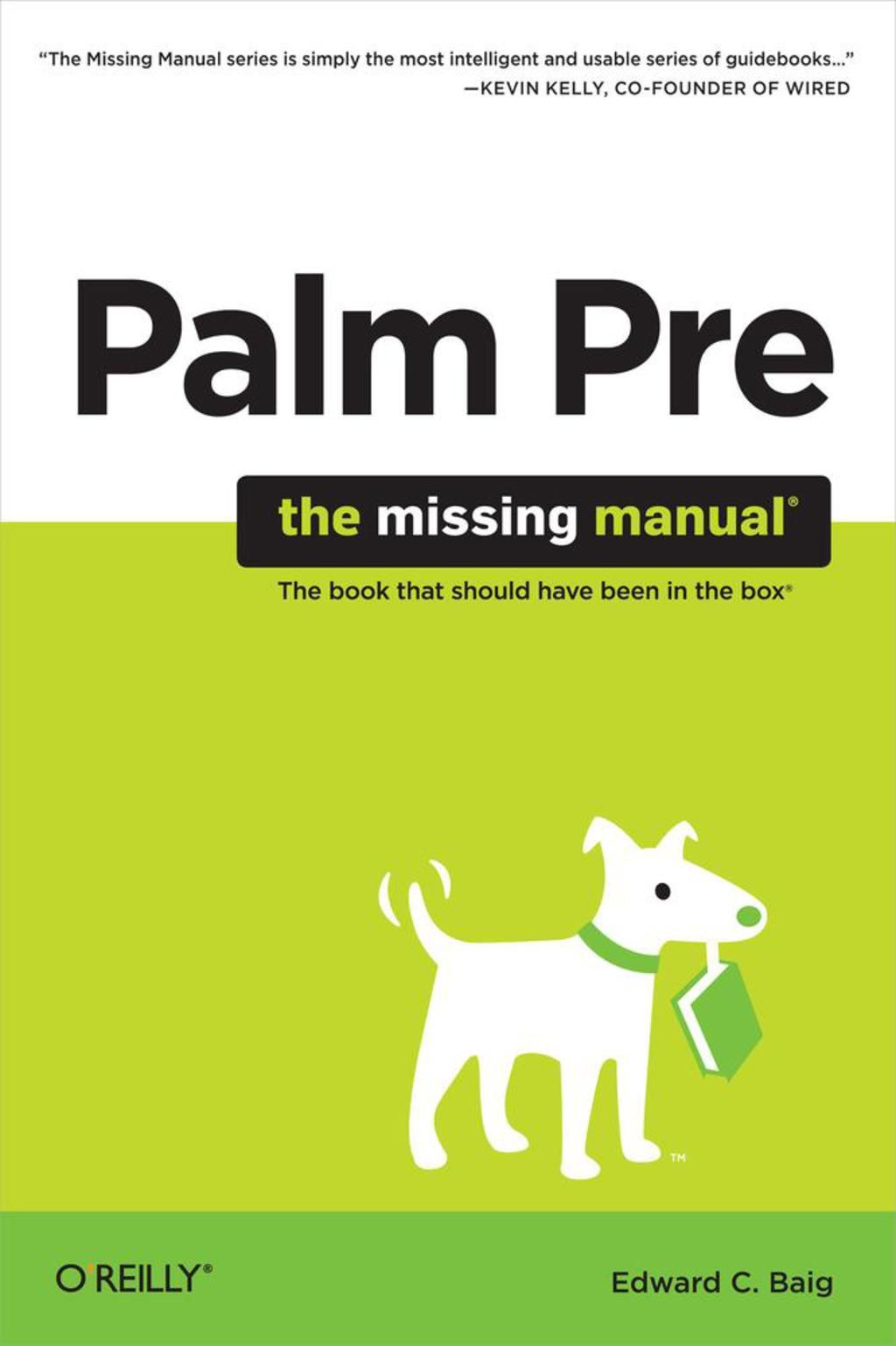 Palm Pre The Missing Manual (eBook) Manual, Apple apps