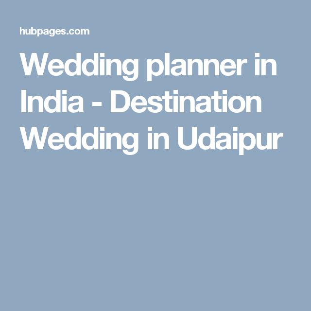 Wedding planner in India - Destination Wedding in Udaipur