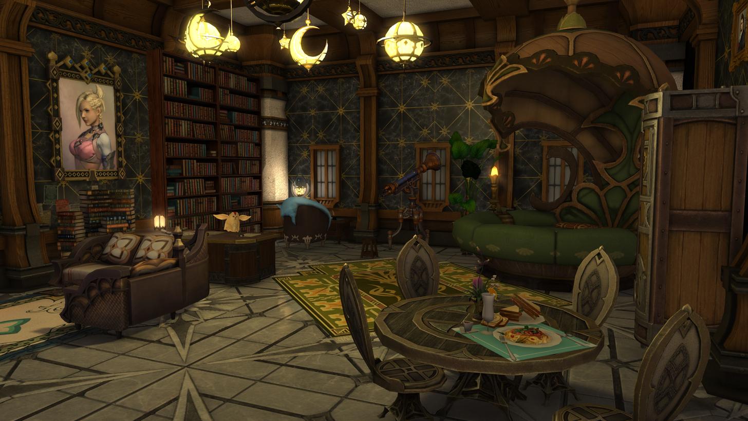 Final Fantasy Xiv Apartment Final Fantasy Xiv Final Fantasy Fantasy
