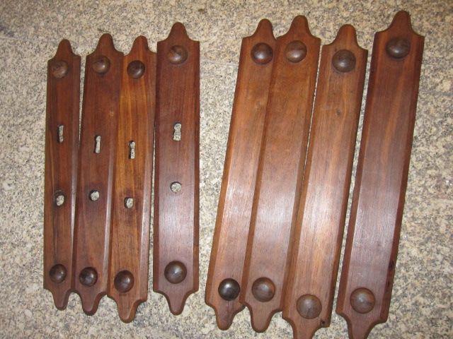 8 antiguas plantillas para cerraduras y picaportes de las