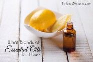 What Brands of Essential Oils Do I Use? // deliciousobsessions.com