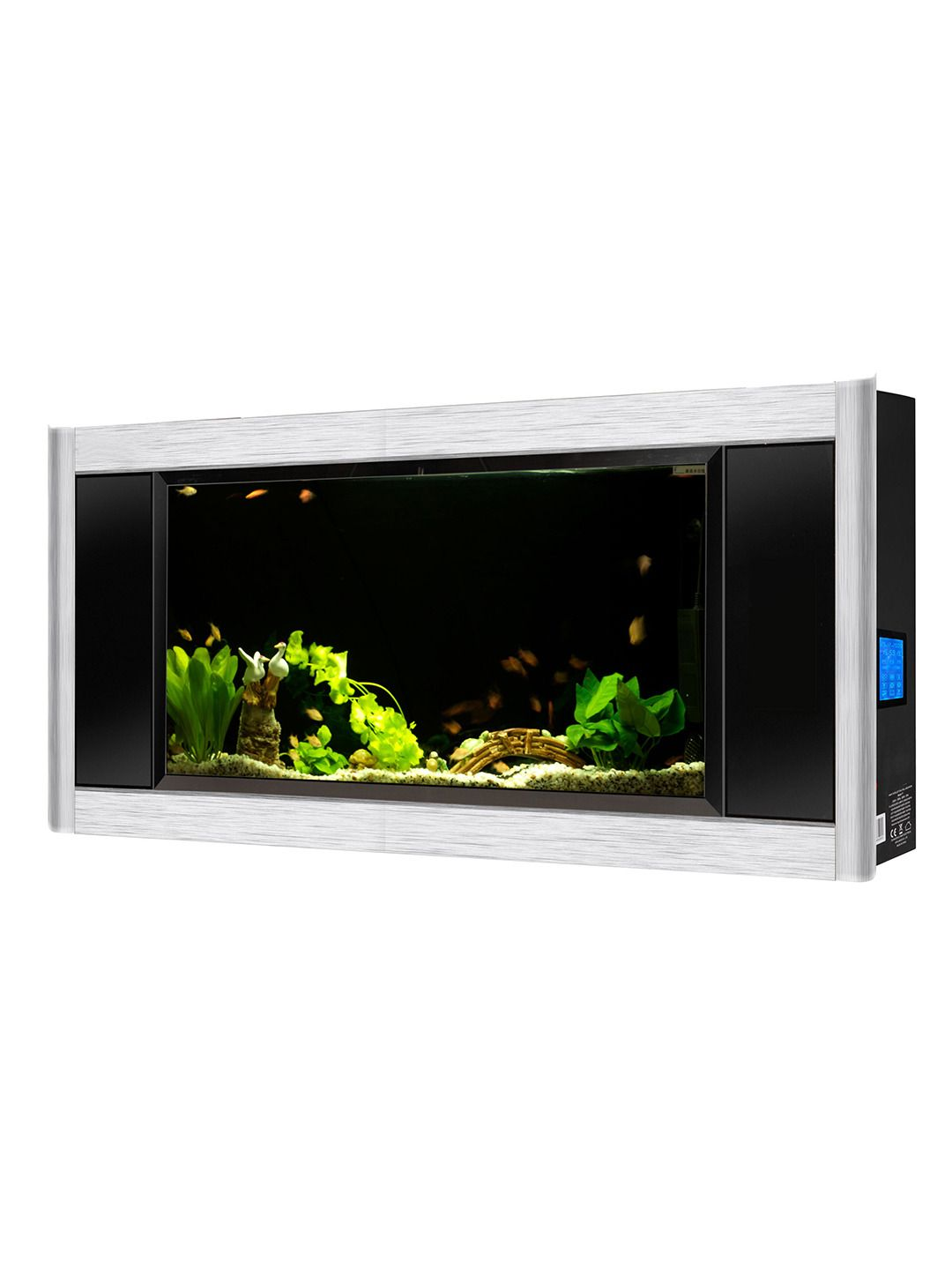 Panoramic Wall Aquarium | Wall aquarium, Aquariums and Walls
