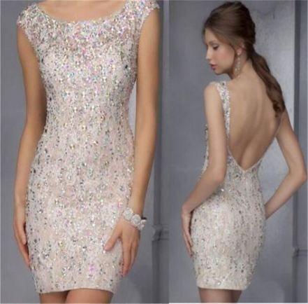 51+  Ideas dress cocktail backless sparkle #backlesscocktaildress
