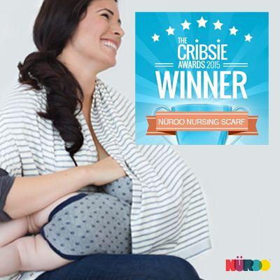 NüRoo Nursing Scarf, 2015 Cribsie Award Winner, Most Sensible Nursing Cover NüRoo Blog | NüRoo