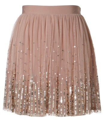 Lipsy Sequin Detail Skirt >> Well, I think this is just one of the prettiest skirts ever. I very much want it!