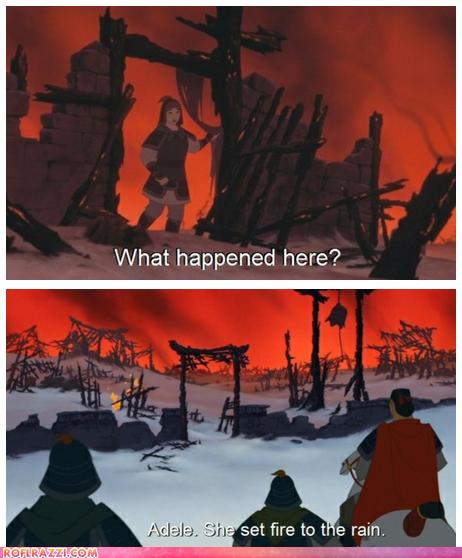 So it wasn't the Huns................