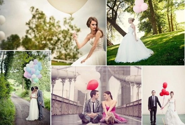 balloons - wedding photography.