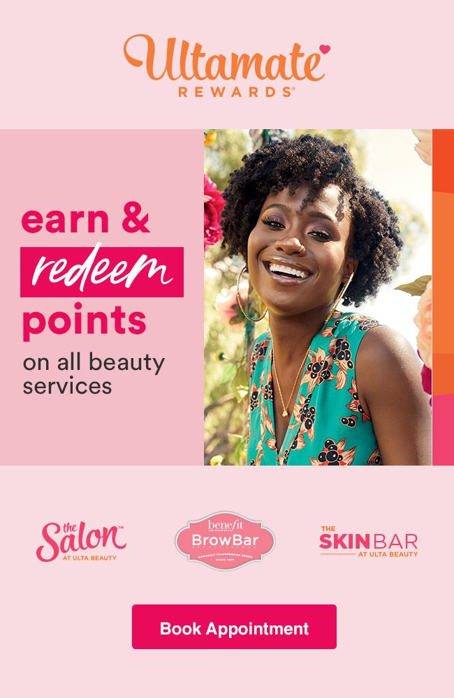 Now you can earn & redeem ULTAmate Rewards points on all