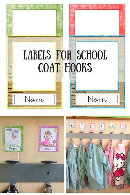 Printable Labels For School Coat Hooks
