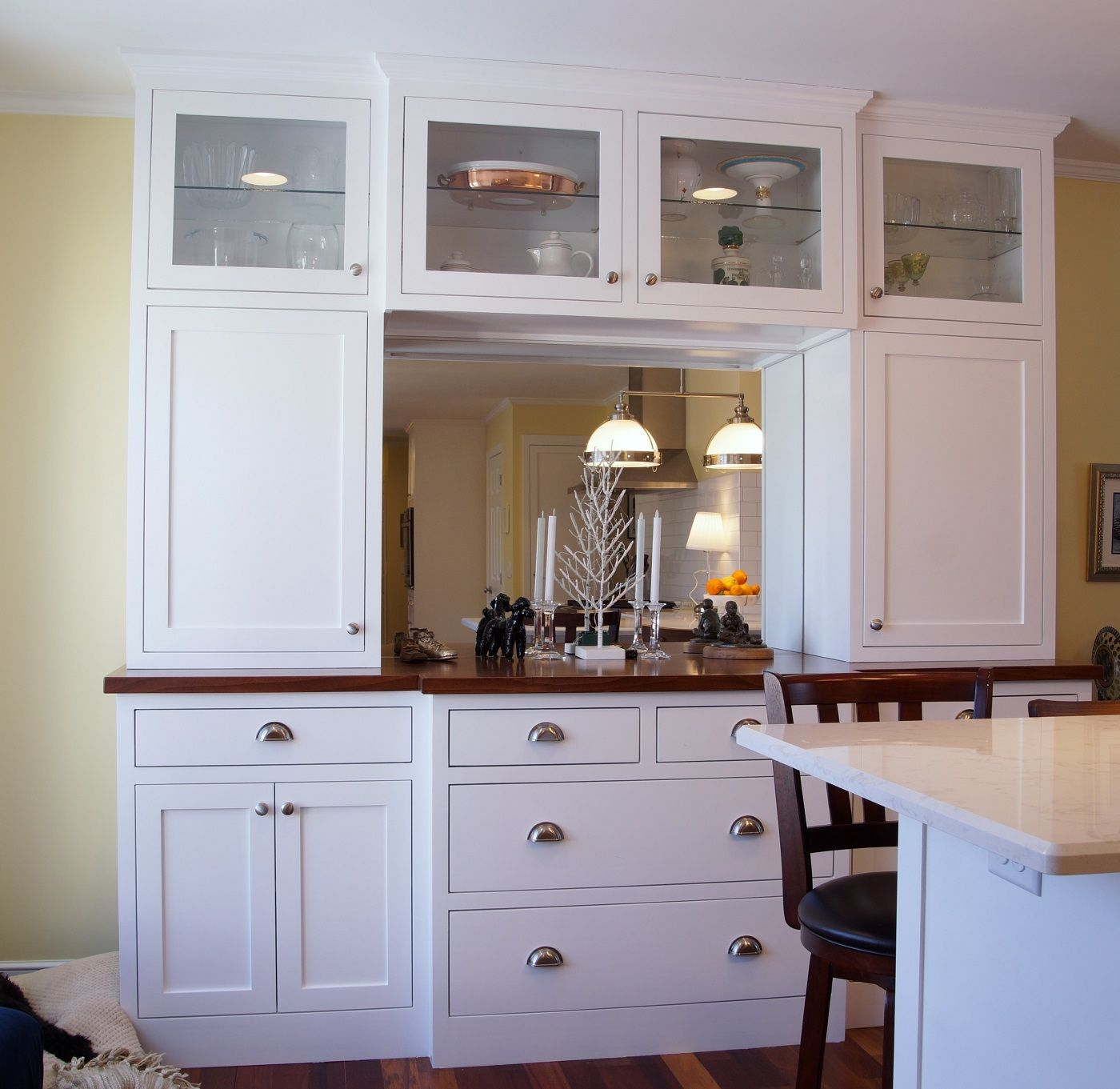 Create A Clutter Free Kitchen With Double Stacked Cabinets Clutter Free Kitchen Kitchen Cabinet Trends Kitchen Cabinets
