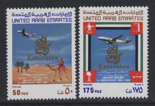 UAE 1986 Emirates Airlines set nhm | eBay | Fly high